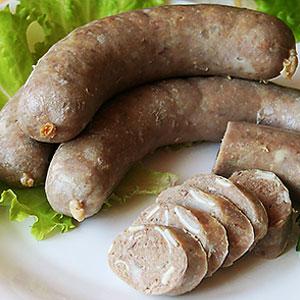 Домашняя колбаса из свиной головы