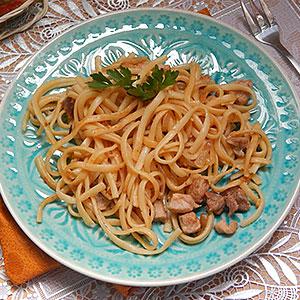 Рецепт лапши со свининой и овощами