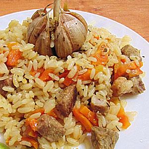 Узбекский плов со свининой рецепт с фото