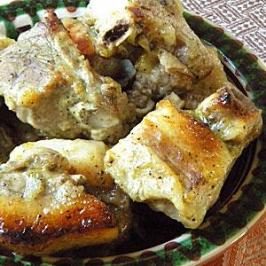 Свиные ребра в медово-горчичном соусе в духовке