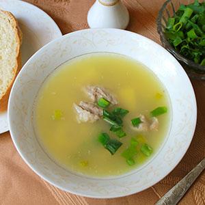 Как сварить гороховый суп со свининой