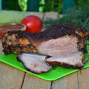 Как приготовить свиную рульку в духовке - рецепт с фото