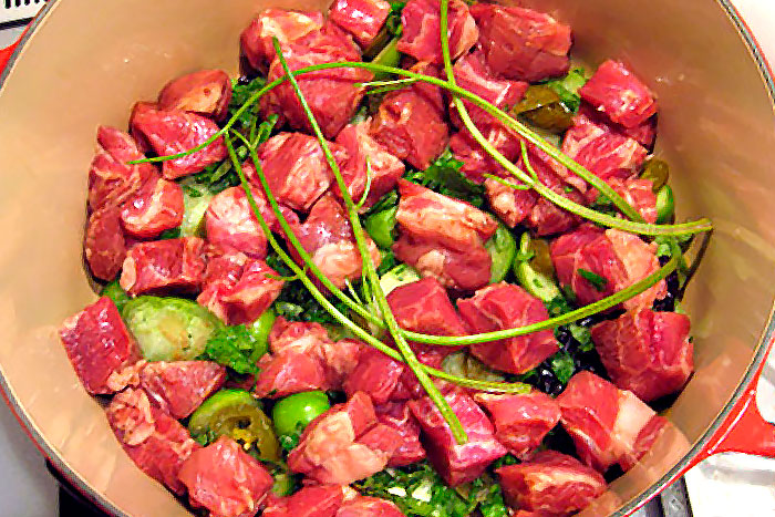 Свинина с овощами для запекания в духовке - фото