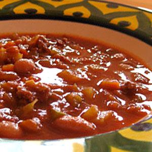 Суп с фасолью и фаршем