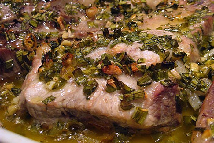 Отбивные из свинины в духовке по рецепту с имбирем