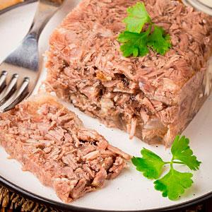 Рецепт холодца из свинины