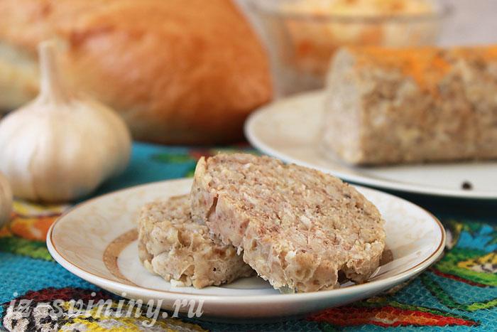 Фото готовой домашней свиной колбасы
