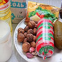 Ингредиенты для ленивой свинины по-барски