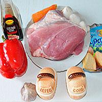 Ингредиенты для свинины по-китайски