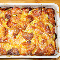 Запекаем в духовке свинину и картофель - фото