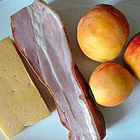 Ингредиенты для блюда из свиной грудинки - фото