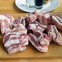 Ребрышки свиные порубить - фото